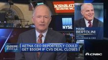 Aetna CEO reportedly could get $500M if CVS deal closes