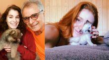 Pet fever: 12 celebridades que adotaram um animal de estimação na quarentena!