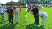 'Surreal moment': Golfer devastated after 'awful' mid-round news
