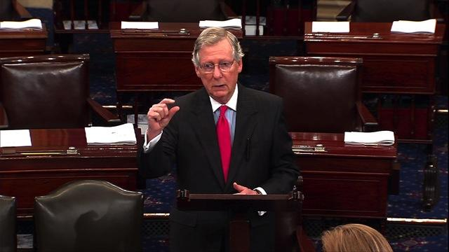 McConnell: Organized labor turning against Obamacare