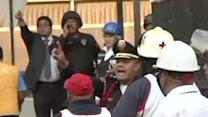 Raw: Explosion at Pemex Headquarters in Mexico