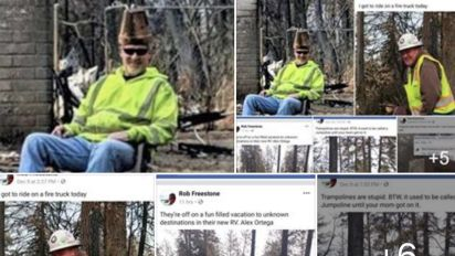 California fire workers fired for insensitive photos