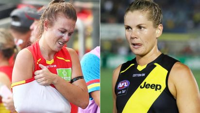 'Just play footy': AFLW gun slammed over ugly act