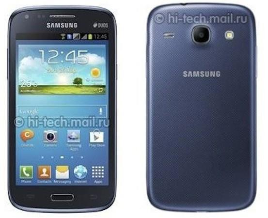 Rumored low-spec Samsung Galaxy Core has 4.3-inch display, vague hints of GS4 styling (update: dual SIM)