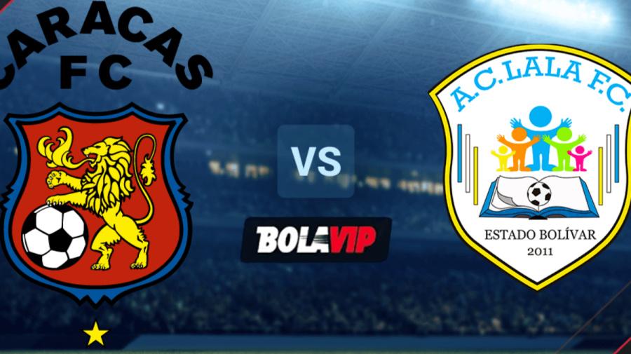 Qué canal transmite Caracas vs. Lala FC por la Liga FUTVE de Venezuela EN VIVO: fecha, hora y canal de TV