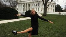 Instacram: Ms. Delevingne Goes to Washington