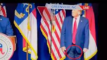'Look closely': Rare Trump appearance sparks odd conspiracy