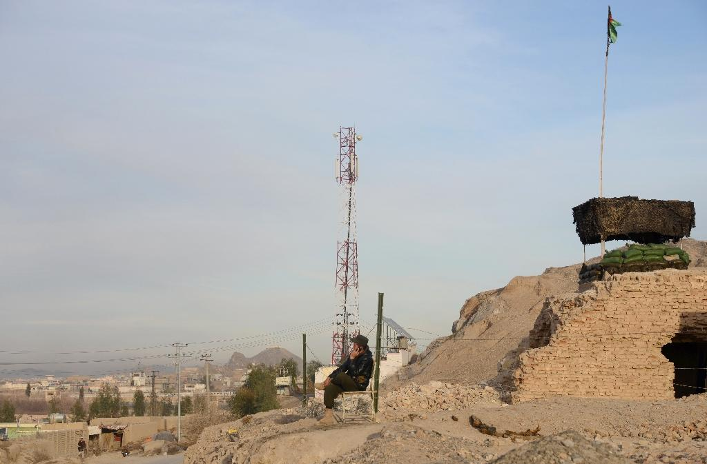 Afghanistan boasts 18.5 million mobile users in a population of 30 million, with the fast-growing industry reporting annual revenue of $150-200 million (AFP Photo/Jawed Tanveer)