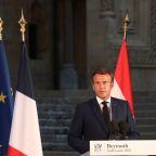 Macron tells donor conference: 'Lebanon's future is at stake'
