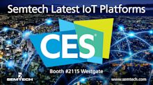 Semtech Exhibiting the Latest Internet of Things Platforms at CES 2018