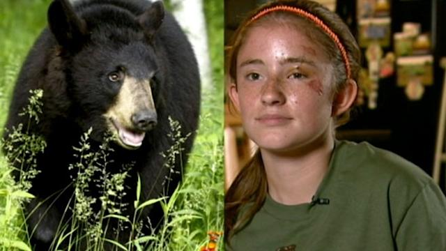 Girl, 12, Survived Bear Attack: 'I Was Terrified'