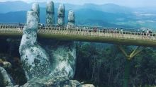 Este puente en Vietnam corta la respiración, ¿te atreves a pasar?