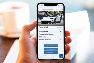 保時捷線上看車平台追加推薦引擎新功能,利用AI人工智慧幫車主挑選最速配車款準確率90