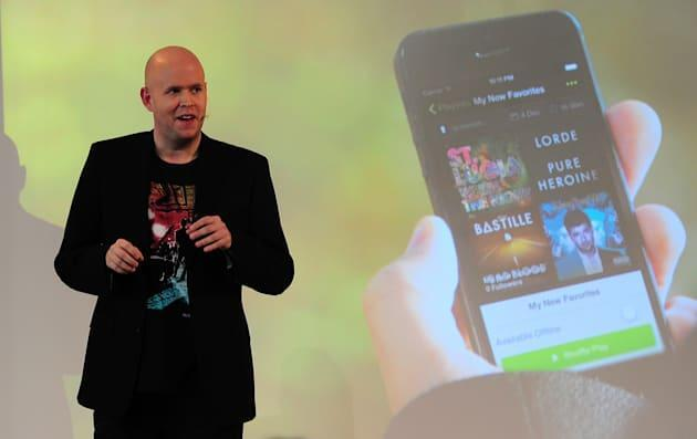 Spotify CEO says it pays $6 million a year to a top artist like Taylor Swift