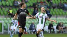 Robben se retira lesionado en su primer partido con el Groningen
