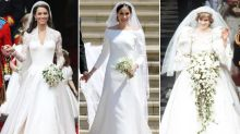 The designers behind the royal wedding dresses throughout history