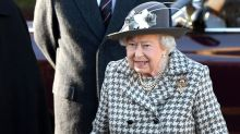 Queen Elizabeth Attends Church with Prince Andrew amid Prince Harry and Meghan Markle's Exit