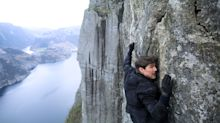 Brave fans get a 'Mission: Impossible — Fallout' screening at a death-defying location from the film