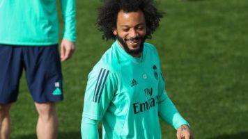 Foot - WTF - Real - Marcelo fait le show lors d'un tennis-ballon