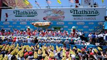 Nathan's Hot Dog Eating Contest live results: Tracking the 2020 winners, total hot dogs consumed