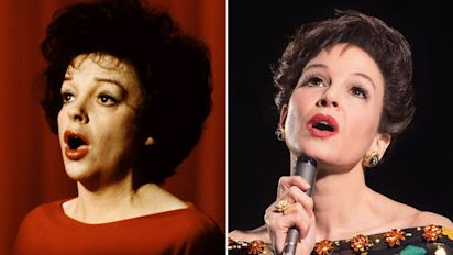 Can you guess who's playing Judy Garland?
