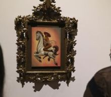 Nude portrait of Emiliano Zapata in high heels sparks fury in Mexico