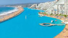The World's Largest Pool Is So Big You Can Sail a Boat on It