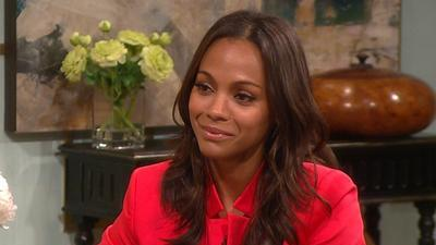 Zoe Saldana Talks Co-Starring With Bradley Cooper In 'The Words'