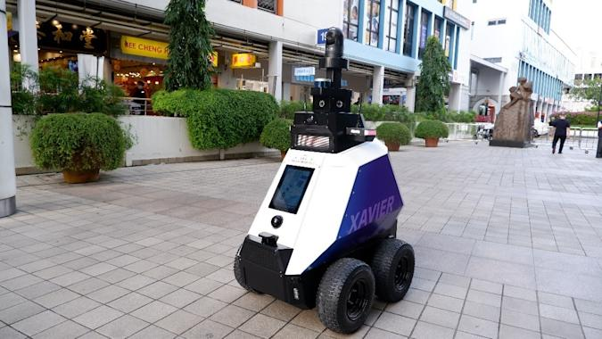 Singapore Xavier robot
