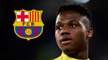 El Barcelona promociona a Ansu Fati y su cláusula sube a 400 millones de euros