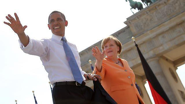 Controversies follow President Obama to Berlin