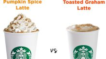 What's Healthier: Starbucks' New Toasted Graham Latte or the PSL?
