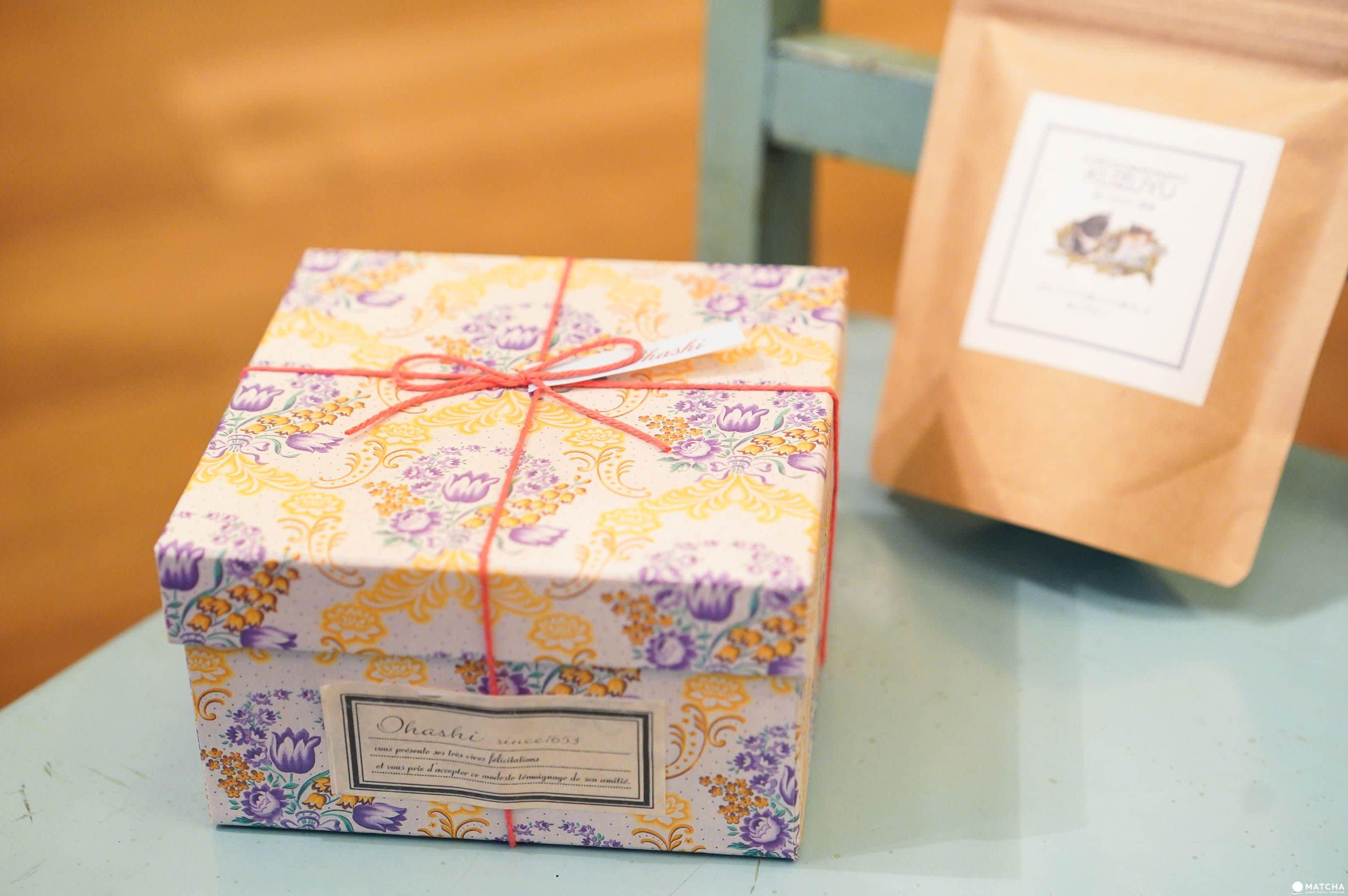 中野伴手禮OHASHI日本茶盒