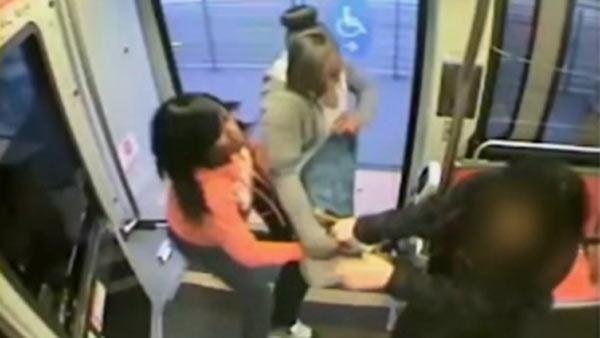 Woman attacked by girls on Muni Metro train