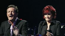 Sharon Osbourne tearful as she defends Piers Morgan on 'The Talk'