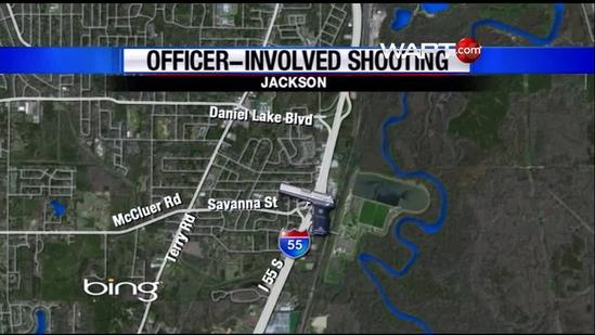 Suspect shot twice by JPD officer