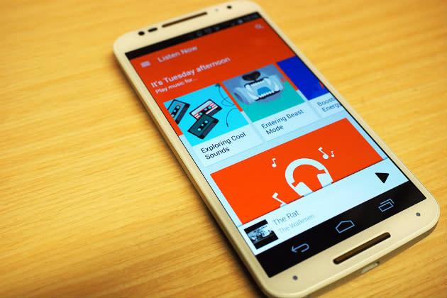 Google Play Music te permite ahora almacenar 50.000 canciones en la nube