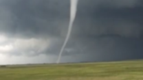 Tornado Forms Over Saskatchewan