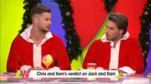 Love Island power couple Chris and Kem have their say on Jack and Dani's drama