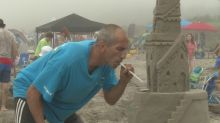This man has been building competitive sandcastles for nearly 30 years