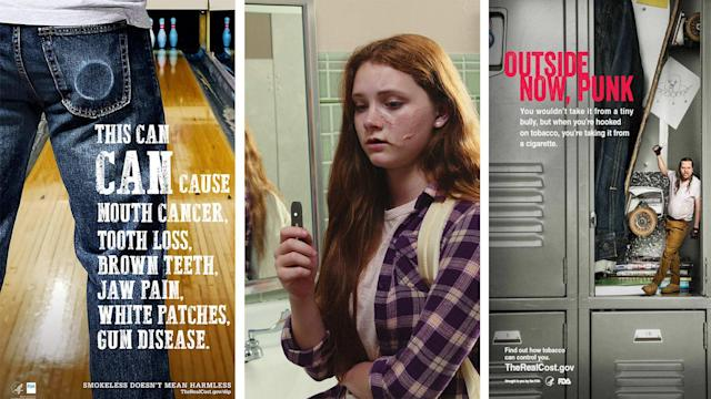 FDA targets teens with e-cigarette prevention ads