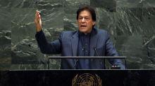 Pakistan Leader Warns of Kashmir 'Blood Bath' in Emotional U.N. Speech
