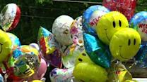 Raw: Balloons Welcome Home Ohio Missing Woman