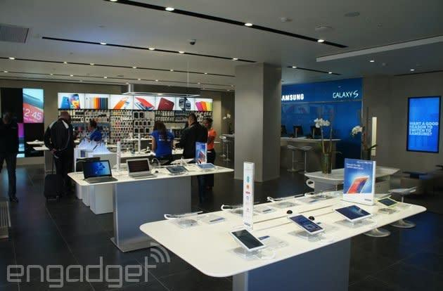 Inside Samsung's new London 'Experience' store