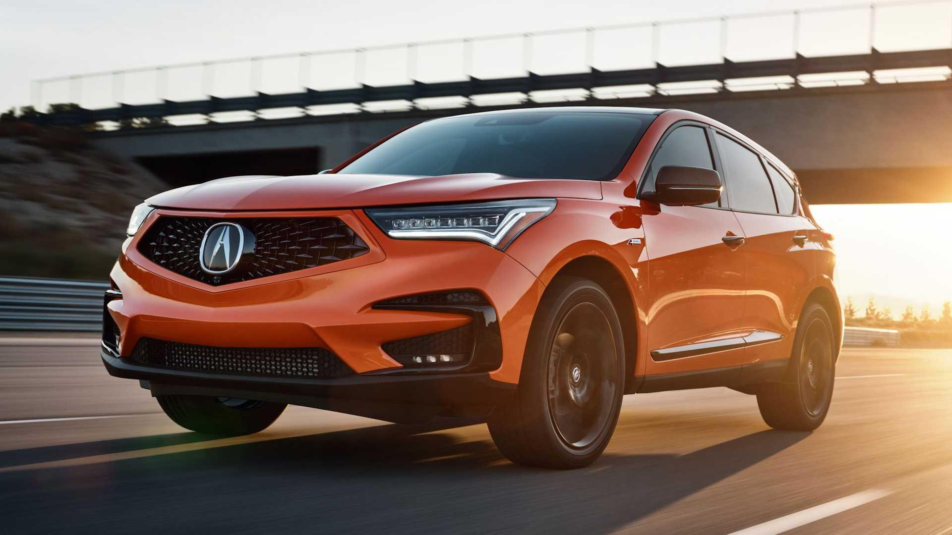 Acura RDX PMC Edition Coming In This Blazing Shade Of ...