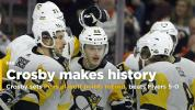 Crosby leads Penguins past Flyers for 3-1 lead in playoffs