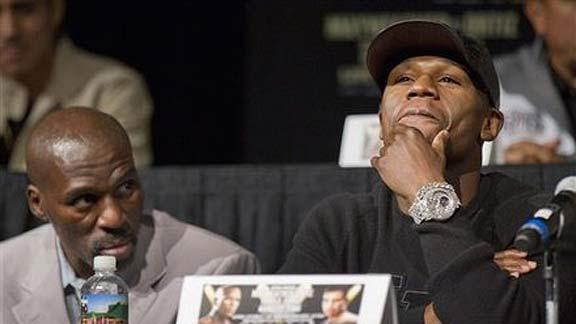 Boxing: Floyd Mayweather news conference