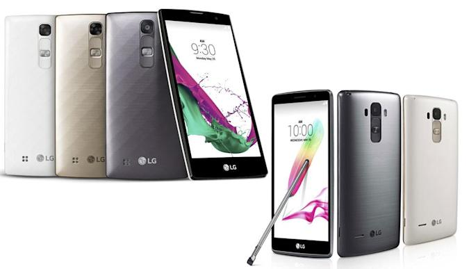 LG busts out budget and Note-style versions of the G4