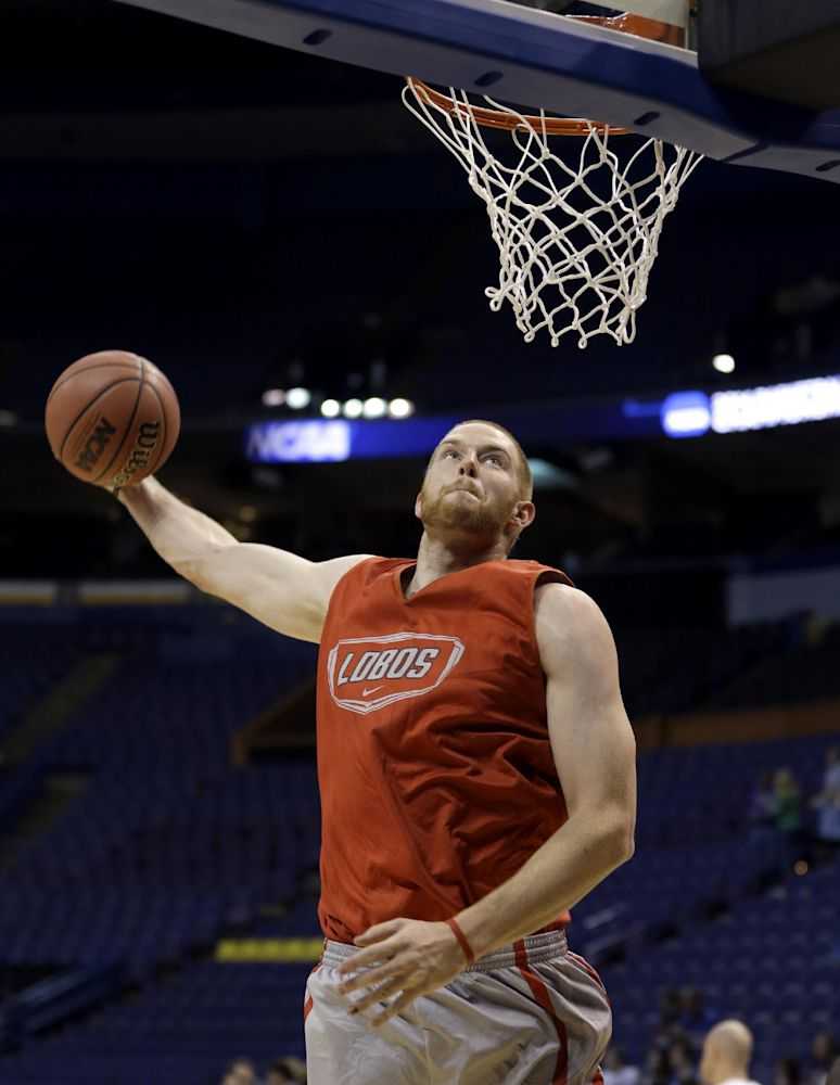New Mexico center Alex Kirk declares for NBA draft