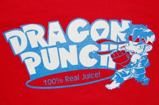 How about a nice Street Fighter shirt?